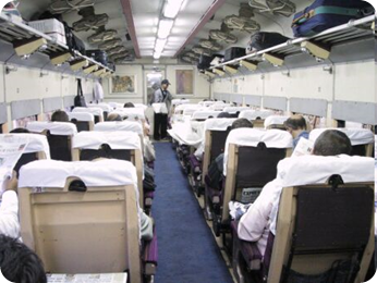 Indian Railways – Seat Availability