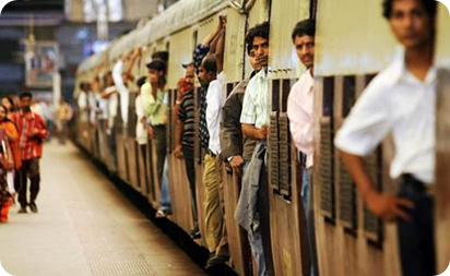 The Mumbai Lifeline – Local Trains